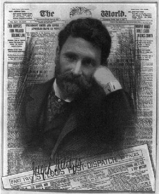Joseph Pulitzer, 1847-1911, Publisher of the New York World image. Click for full size.