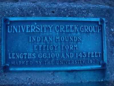 University Creek Group Marker image. Click for full size.