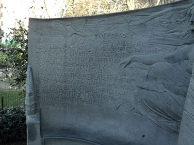 Left Wing of Farragut Marker image. Click for full size.