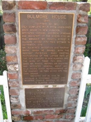 Bulmore House Marker image. Click for full size.