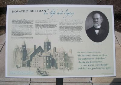 Horace B. Silliman Marker image. Click for full size.