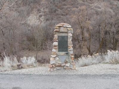 Donner Hill Marker image. Click for full size.