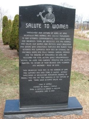 Salute To Women Marker image. Click for full size.
