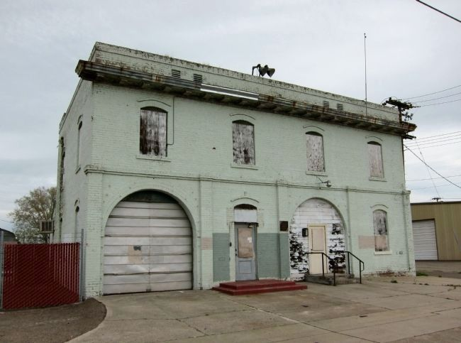 Former Lodi City Hall, Fire House and Jail image. Click for full size.
