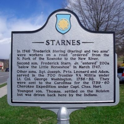 Starnes Marker (side a) image. Click for full size.