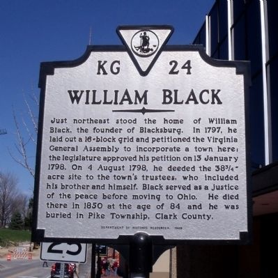 William Black Marker image. Click for full size.