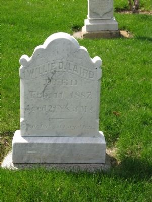 Example of a Headstone Located at Medronia Cemetery image. Click for full size.