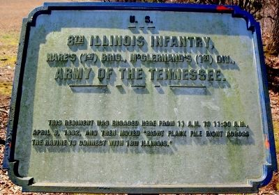 8th Illinois Infantry Marker image. Click for full size.