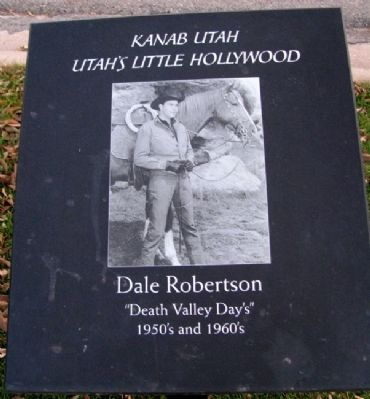 Dale Robertson Marker image. Click for full size.