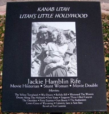 Jackie Hamblin Rife Marker image. Click for full size.