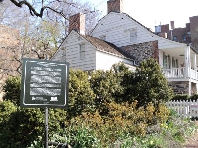 Dyckman Farmhouse and Marker image. Click for full size.