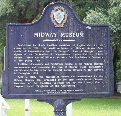 Midway Museum Marker image. Click for full size.