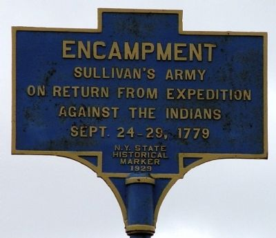 Sullivan's Army Encampment Marker image. Click for full size.