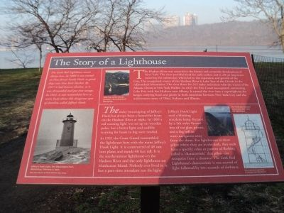 The Story of a Lighthouse Marker image. Click for full size.
