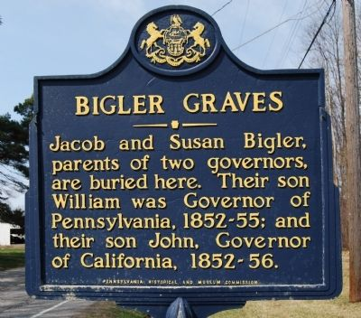 Bigler Graves Marker image. Click for full size.