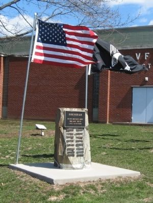 VFW Post 511 Vietnam Veterans Memorial image. Click for full size.