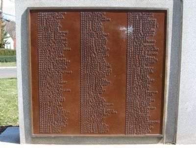 Front Left Plaque image. Click for full size.