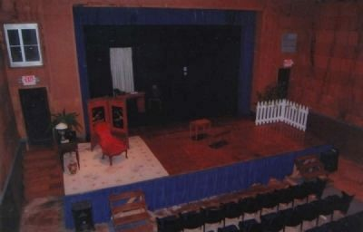 Interior of Saluda Theater image. Click for full size.