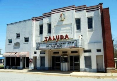 Historic Saluda Theater image. Click for full size.