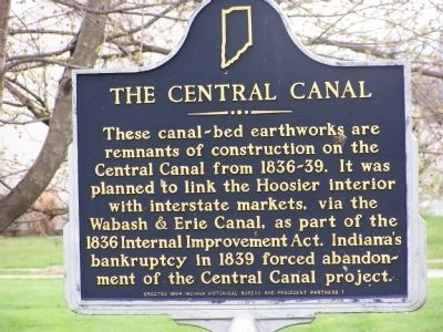 The Central Canal Marker image. Click for full size.