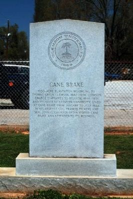 Cane Break Marker image. Click for full size.