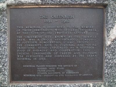 The Greenbush Marker image. Click for full size.