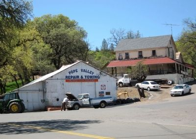 Pope Valley Garage and Store image. Click for full size.