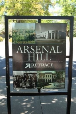 Arsenal Hill Marker, reverse side image. Click for full size.