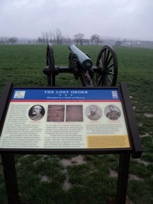 Marker on the Monocacy Battlefield image. Click for full size.