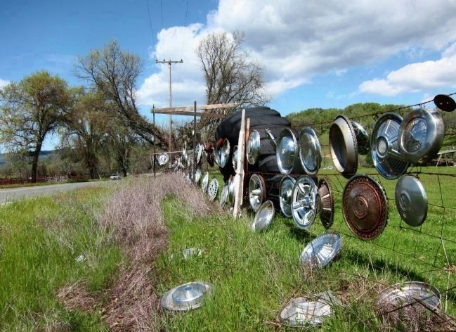 The Magic of Hubcaps... image. Click for full size.