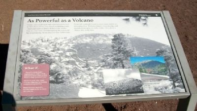 As Powerful as a Volcano Marker image. Click for full size.