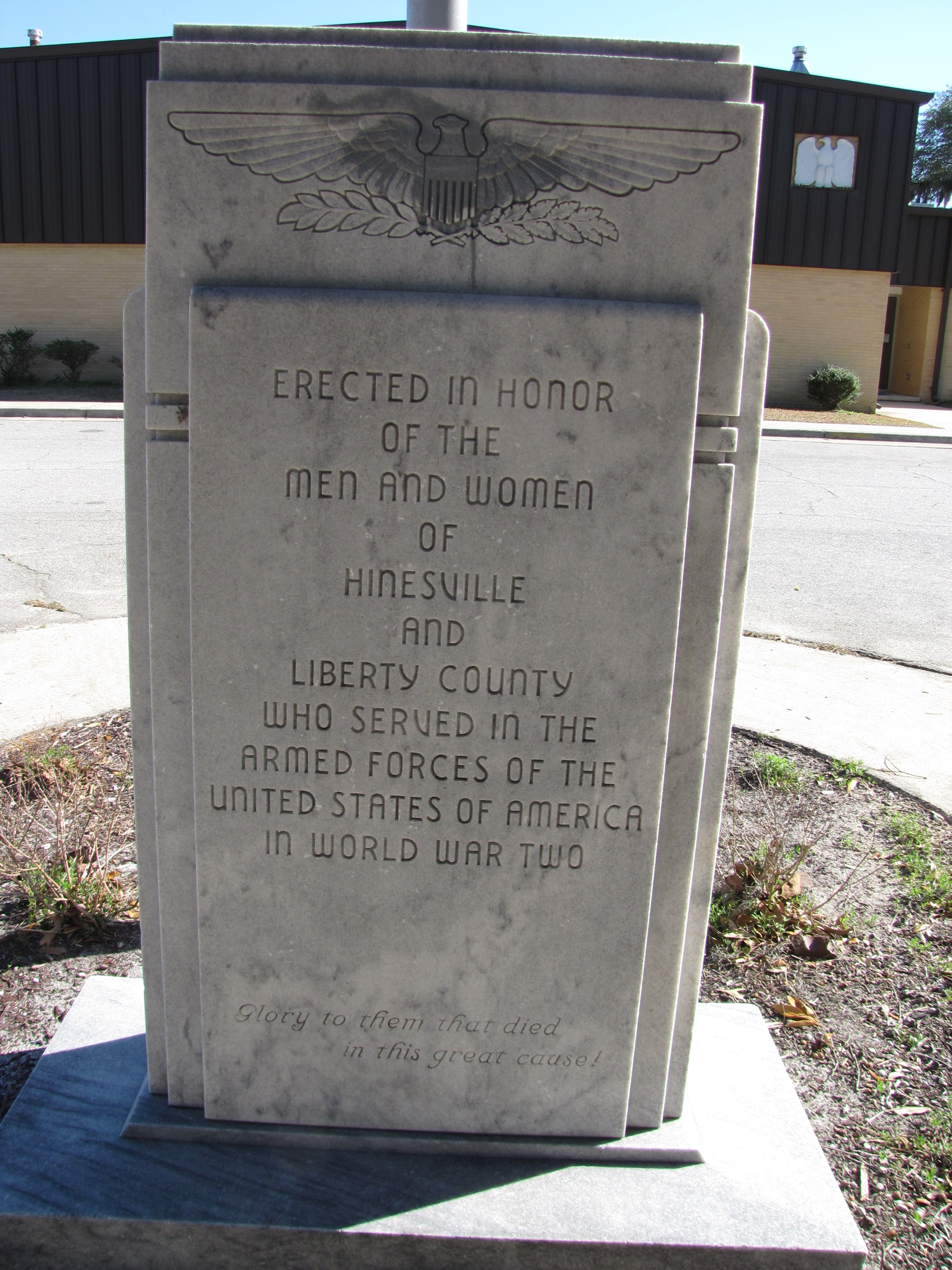 Hinesville and Liberty County World War II Veterans Monument