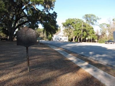 Savannah-New Inverness Road Marker image. Click for full size.