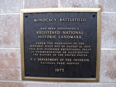 Monocacy Battlefield Marker image. Click for full size.