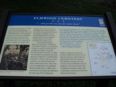 Elmwood Cemetery Marker image. Click for full size.