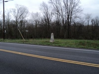 Marker on Kearneysville Pike image. Click for full size.