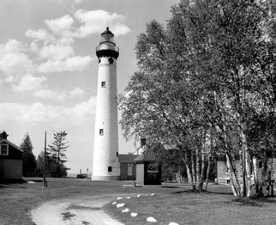 New Presque Isle Lighthouse image. Click for full size.