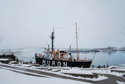 Huron Lightship image. Click for full size.