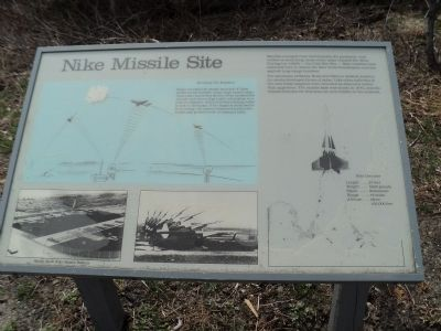 Nike Missile Site Marker image. Click for full size.
