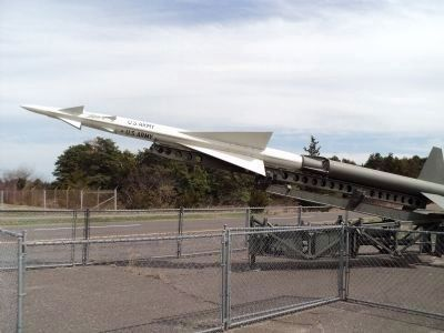 Nike Hercules Missile image. Click for full size.