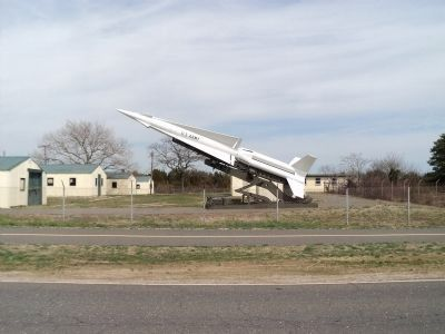Second Nike Missile image. Click for full size.