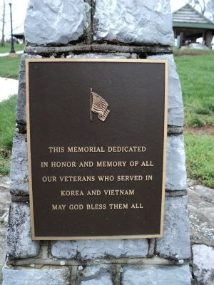 Keedysville Korea & Vietnam Memorial Marker image. Click for full size.