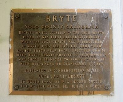 Bryte Marker image. Click for full size.