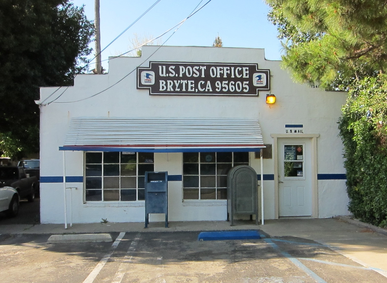 Bryte Post Office and Marker in West Sacramento