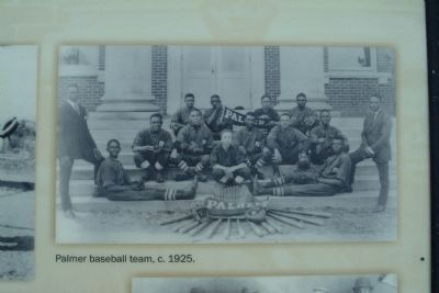 Palmer Baseball Team c. 1925 image. Click for full size.