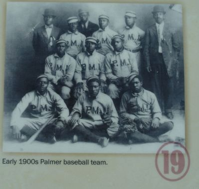 Early 1900s Palmer baseball team image. Click for full size.