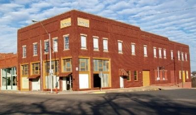 Crane Motor Company Building and Marker image. Click for full size.
