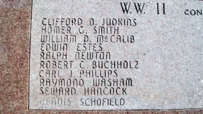 Lincoln County War Memorial Honor Roll image. Click for full size.