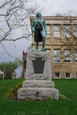Colonel William Crawford Statue image. Click for full size.