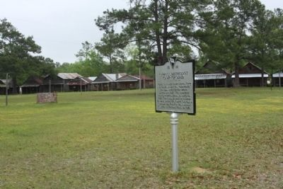 Cypress Methodist Camp Ground Marker image. Click for full size.